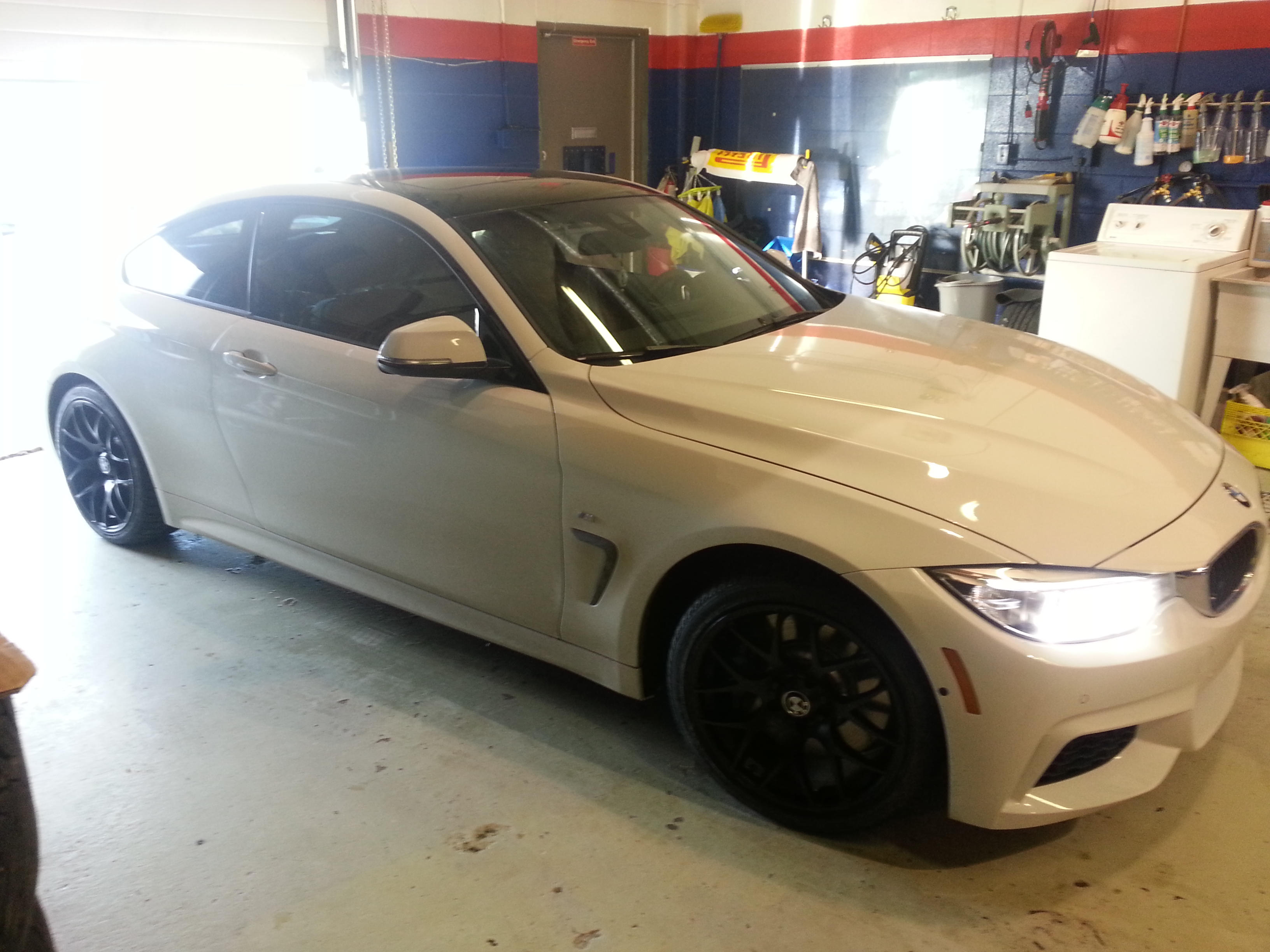 2014 Bmw 435i Winter Tires Wheels V710 Style